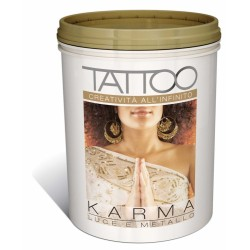 TATTOO KARMA METALLIZZATO 3D